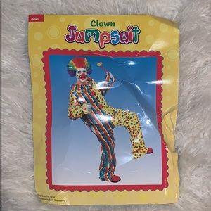 Clown Jumpsuit & Wig